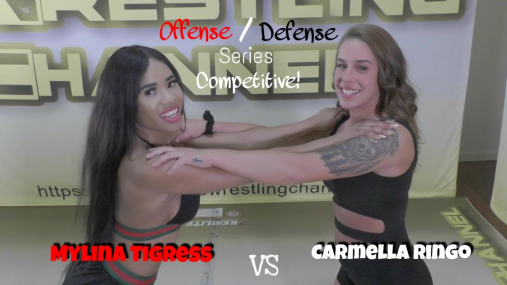 (O/D) - Carmella Ringo vs Mylina Tigress - (REAL) - 2019