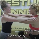 Women Wrestling - Rose vs Astra - 2019
