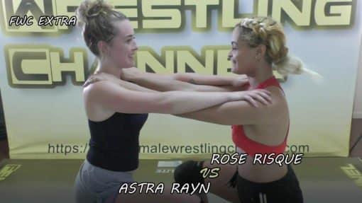 Women Wrestling - Rose vs Astra - 2019