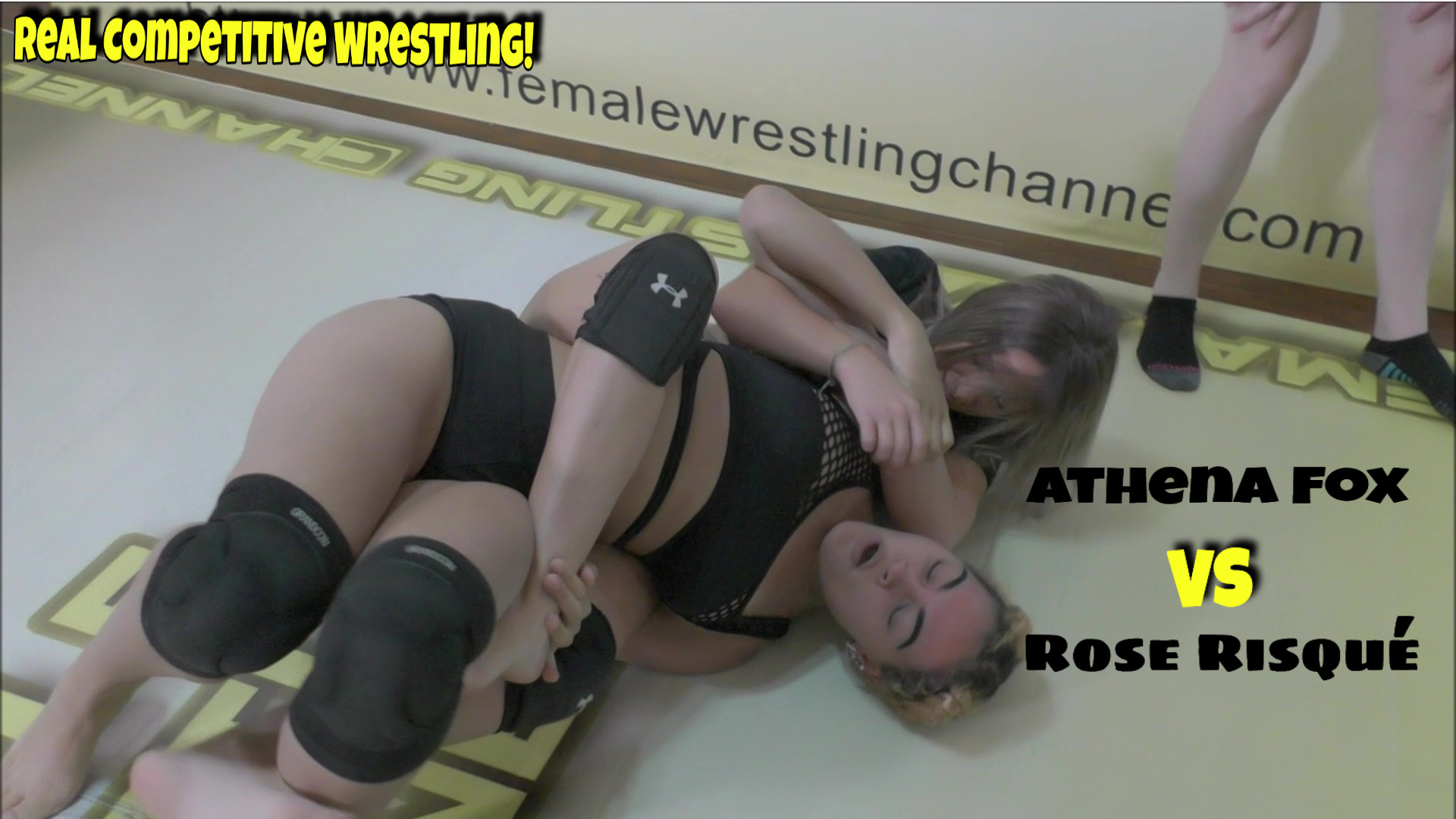 Athena Fox vs Rose Risque - #2 - (REAL) - 2019