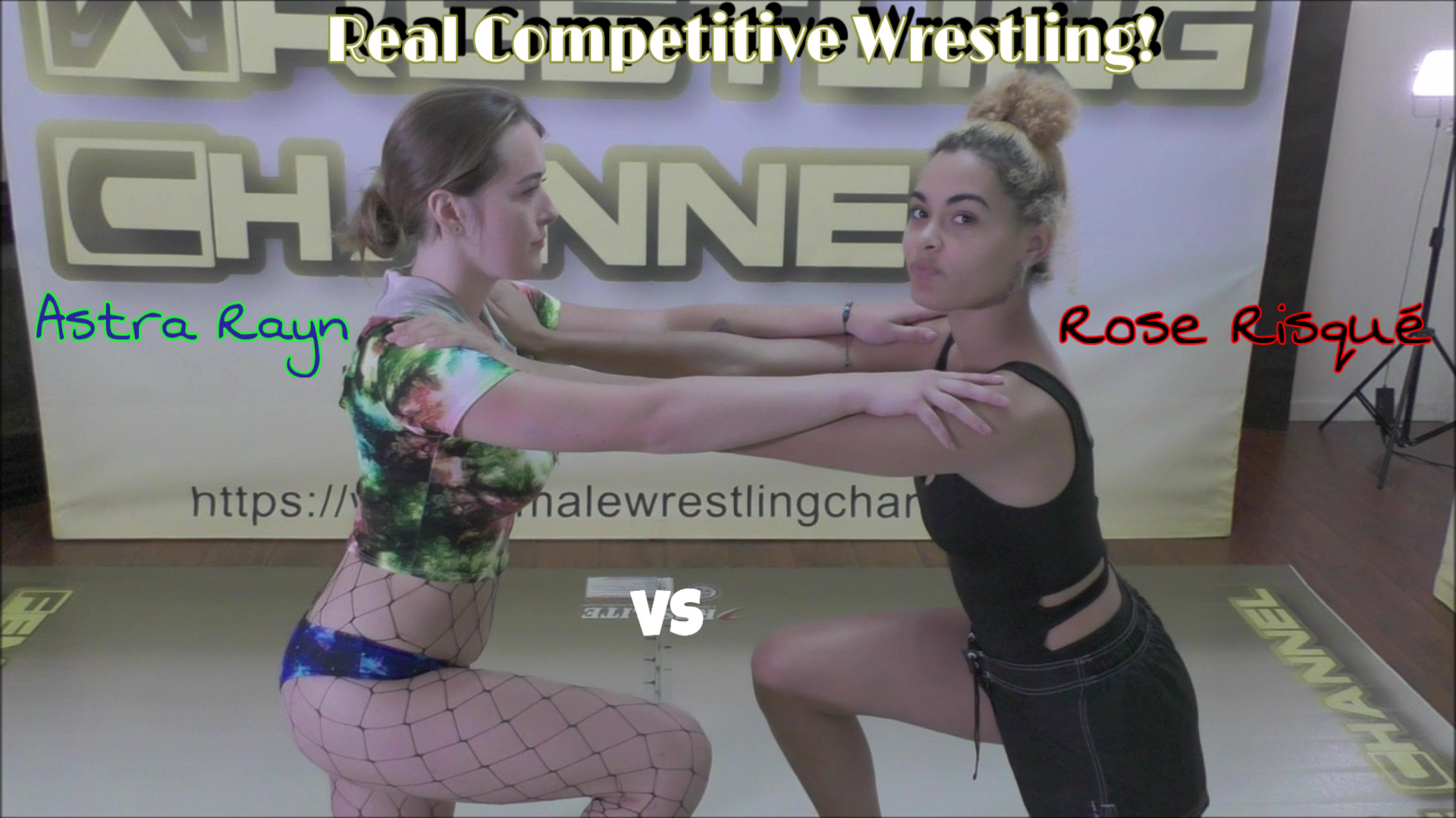 Astra Rayn vs Rose Risque - #2 - REAL Women's Wrestling - 2019