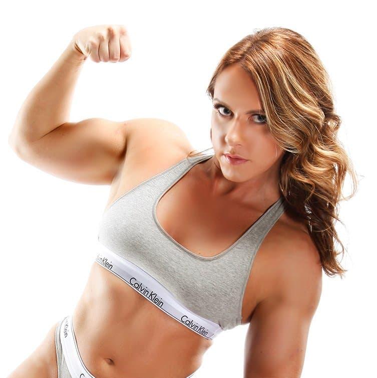 Sara Lips Wrestling