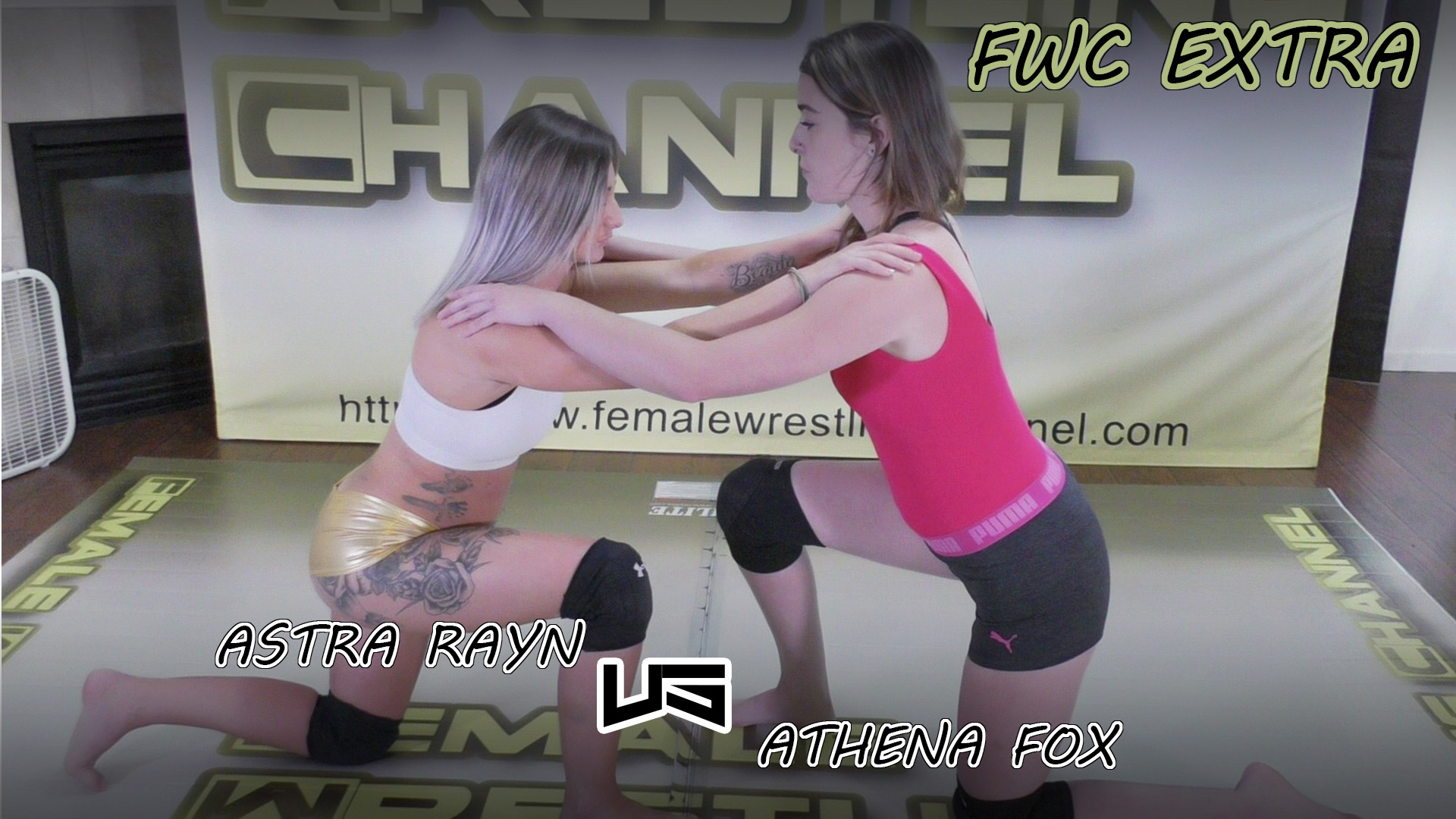 Astra Rayn vs Athena Fox - (REAL) - 2019