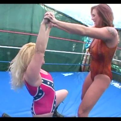 Test of Strength - Christie Ricci vs Maria Montana - Pro Wrestling Females!