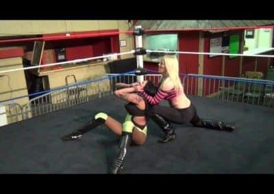 Amanda Rodriguez vs Amber O'Neal - One Sided Female Wrestling!
