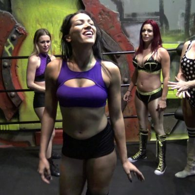 April Hunter and Sarah Brooke vs Aria Blake and Salina De La Renta