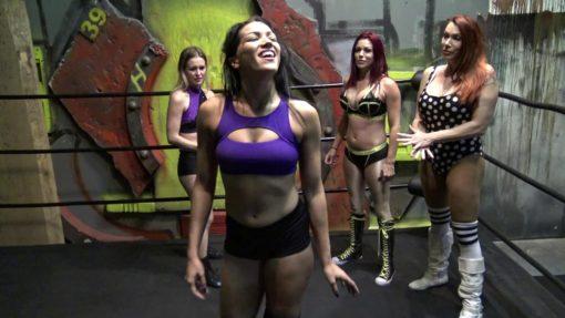 April Hunter and Sarah Brooke vs Aria Blake and Salina De La Renta
