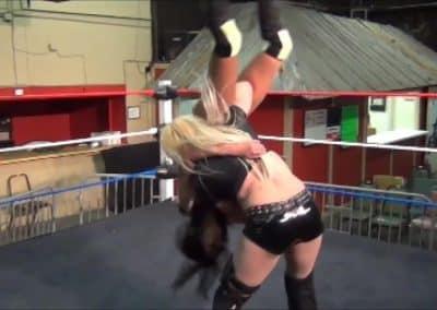 Amanda Rodriguez vs Melissa Coates - One Sided Domination Wrestling!