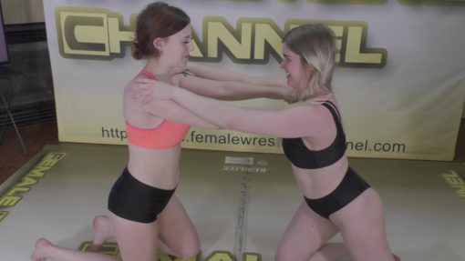 Farrah Fighter vs Monroe Jamison - Real and Competitive Women's Wrestling - 2020