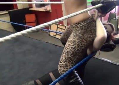 Booty Bop - Amber O'Neal vs Taeler Hendrix - Cherry Bomb Wrestling