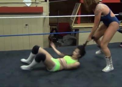 Christie Ricci vs Su Yung - Pro Women's Wrestling - Cherry Bomb Wrestling