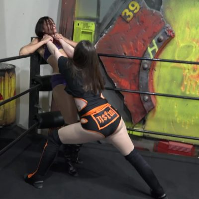 Kaci Lennox vs Rock C - Women's Pro Wrestling!