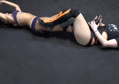 Kaci Lennox vs Rock C - Women's Pro Wrestling!