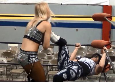 Amber O'Neal vs Black Widow - Cherry Bomb Wrestling