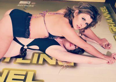 Full body pin - Buffy Ellington vs Monroe Jamison - #1 - 2020 - The Female Wrestling Channel