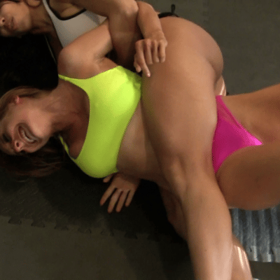 Bodyscissors - Eden Sins vs Tylee Texas - Baefight
