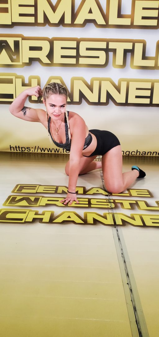The Better Woman - Buffy Ellington vs Holly Hurt - The Female Wrestling Channel