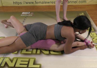 Full Body Press - Introducing Sassy Kae - Women's Wrestling Training - 2020