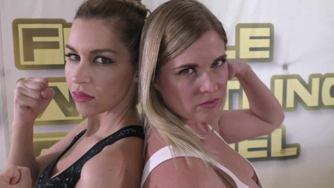 Sunny Days - Monroe Jamison vs Sunny Vixen - Women's Wrestling Photoshoot - The Female Wrestling Channel